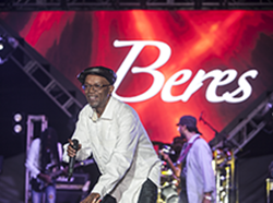 Beres Hammond @ Woodstock Negril - Negril Travel Guide.com Photo Gallery by Barry J. Hough Sr. - Photojournalist